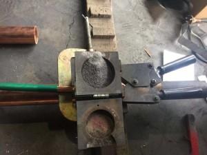 热熔焊接模具 定制石墨模具 放热焊接焊粉现货