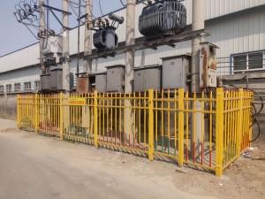无磁绝缘防静电玻璃钢高压电力围栏玻璃钢变压器围栏厂家直销
