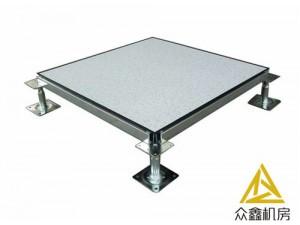 安利陕西众鑫机房的PVC防静电地板