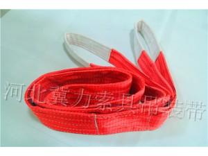 彩色吊装带-大吨位耐磨护套彩色吊  装带-冀力工厂