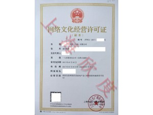 二十天加急办理上海网络文化经营