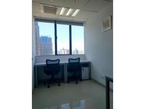 精装独立小型办公室含房租水电物管网络空调