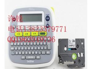 兄弟标签打印机pt-d200标签标识打印机 打标机