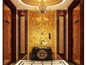 中式瓷砖背景墙