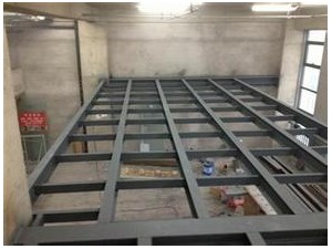 专业制作钢结构阁楼 家庭阁楼浇筑阁楼 整体楼梯
