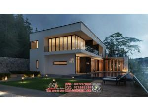 别墅庭院景观效果图设计制作