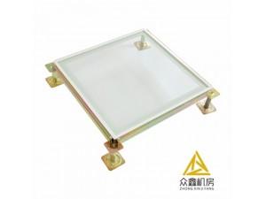防静电的材料与配件,陕西众鑫机房品牌安装效果