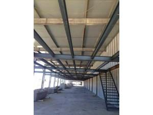 廊坊钢结构阁楼楼梯室内二层加建浇筑楼板阁楼楼梯制作