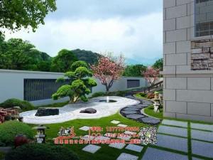 私家小庭院别墅自建房院子平面布局图效果图设计