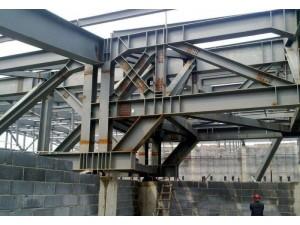 大型钢结构厂房拆除,钢结构桥梁拆除各种高空砼制架、铁烟囱拆除