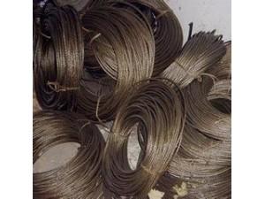 收购钢丝绳二手钢丝绳电梯钢丝绳油丝绳厂家