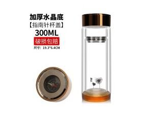 双层玻璃杯批發礼品杯广告杯子印字logo活动水杯茶杯厂家定制