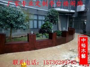 重庆景观园林小品防腐木凉亭定制厂家