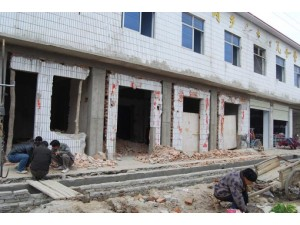 石家庄正定专业房屋改造加固墙体拆除加固