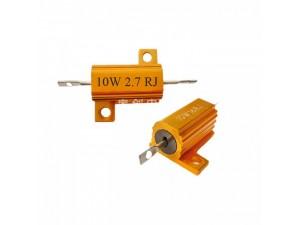 电源负载老化电阻RX24-10W 黄金铝壳电阻