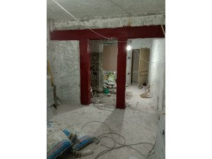 顺义区龙湾屯镇楼板加固 楼板下沉加固 承重墙切门需要加固吗