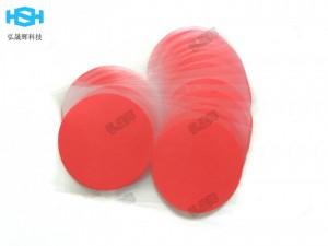 耐高温红色美纹胶带 PCB红色复合PET胶带