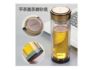 双层玻璃杯厂家批發定制礼品杯广告杯子印字logo