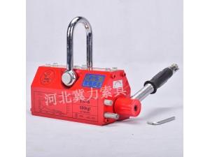 1吨工业强力永磁起重器磁铁吸盘厂家价格-冀力