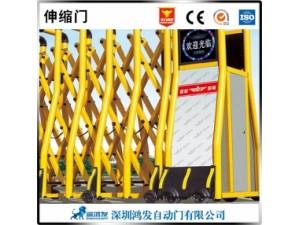 无轨伸缩门 车辆识别伸缩门 有轨不锈钢伸缩门厂家