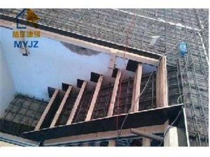 混凝土现浇阁楼楼梯搭建.钢结构别墅阁楼楼梯搭建制作