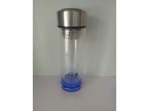 玻璃杯水杯男双层便携家用随手杯子定制过滤女学生茶水分离泡茶杯