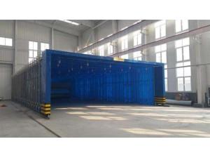 重庆钢结构伸缩喷漆房厂家