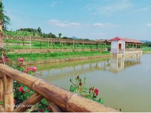 长沙县龙华山下最大的休闲山庄