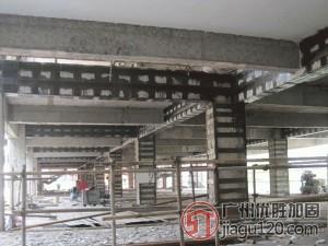 石家庄新乐专业房屋改造加固炭纤维加固
