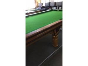二手台球桌出售 专业拆装更换台呢