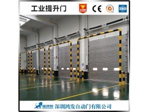 鍍鋅鋼板工業提升門食品加工抗風提升門上門安裝
