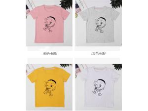 【长康童装店】新款儿童卡通童装打底衫