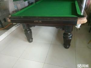 出售二手台球桌二手亚林钢库木库台球桌