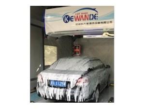 科万德全自动洗车机设备带风干360度全自动无接触洗车机水斧
