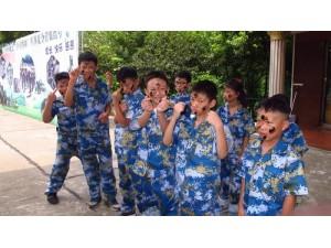 暑假 黄埔小将 军事夏令营集结中 责任担当感恩