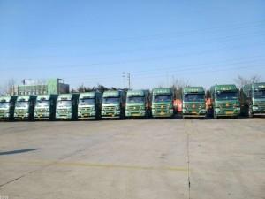 青岛集装箱车队危险品冻柜开顶特种柜专业运输