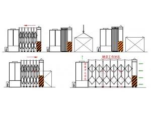 江苏移动伸缩喷漆房 配套废气处理设备 定制整体方案