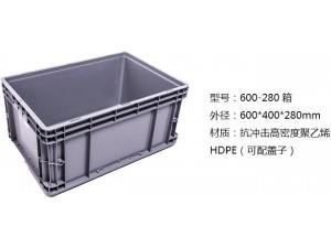 欧标配件零件塑料箱尺寸武汉厂家供应