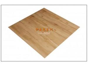 广东木纹塑胶地板厂家工程板房PVC片材地板定制3mm石塑地板