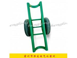 电力施工电线杆运杆车/运杆炮车拉杆车 拖杆车单双杆电杆运输车