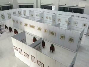 江西省宜春书画艺术无缝板墙租赁出售