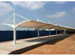 重庆膜结构车棚雨棚厂家直销包基础包安装