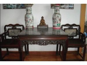 各类老式红木家具北京老时钟老油灯老字画老瓷器石雕