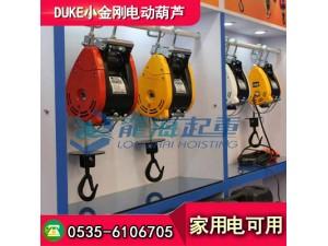 DUKE小型电动葫芦DU-75A,上海小型电动葫芦供应商