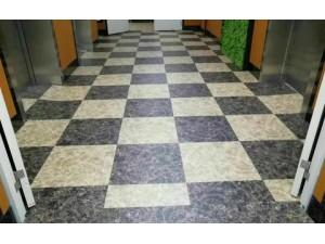 石塑PVC地板安装施工