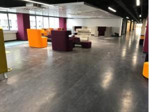 PVC地板胶弹性地板地面安装工程