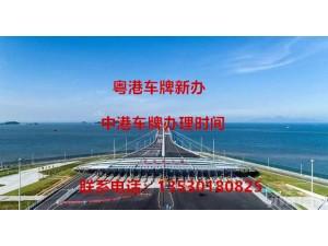港珠澳大桥车牌再次开放指标啦!