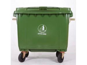 660l带轮超大塑料垃圾桶尺寸厂家