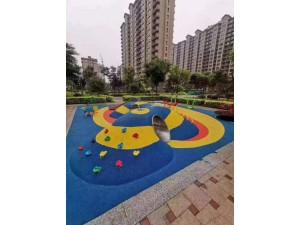 学校球场幼儿园公园橡胶跑道