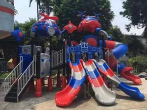厂家定制户外大型多功能组合滑梯幼儿园